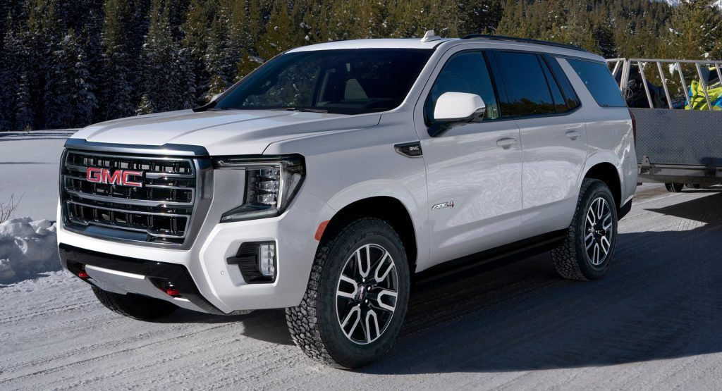 2021 Gmc Yukon Is All New From The Ground Up Gains Rugged At4
