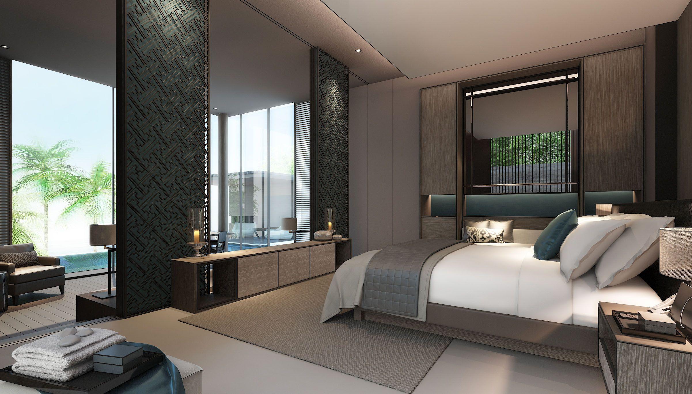 Scda Resort Hotel Development Bali Indonesia Guestroom