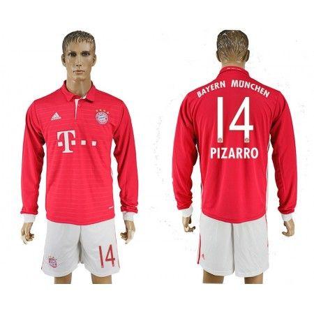 Bayern München 16-17 Pizarro 14 Hemmatröja Långärmad,304,73KR ...