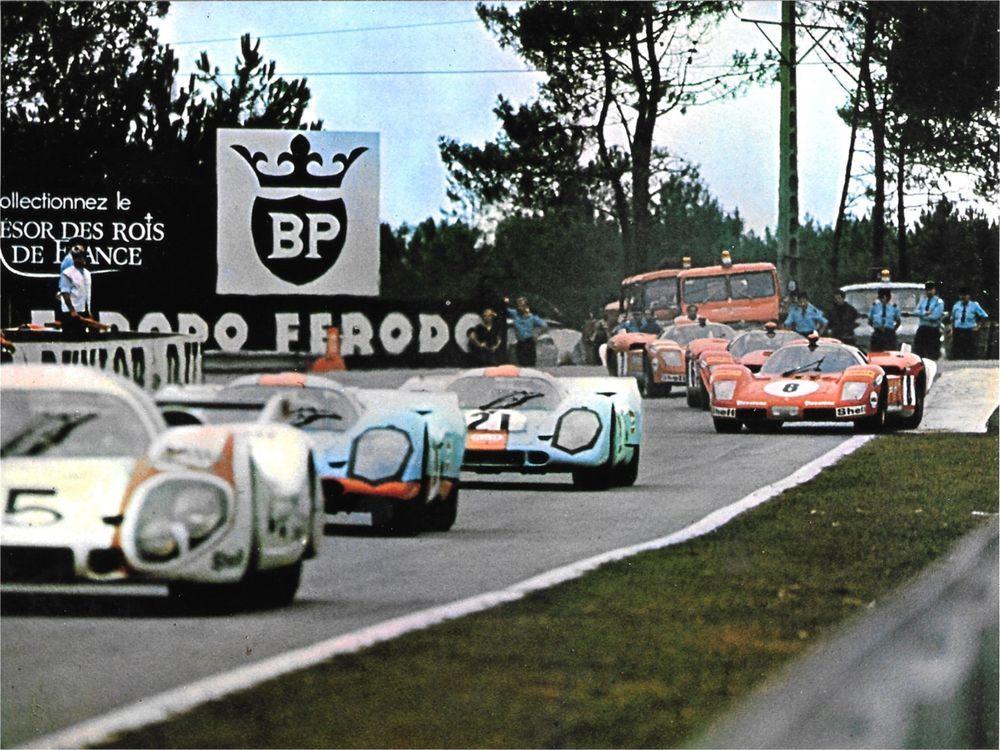 Steve Mcqueen Le Mans Hours Film Photograph Mike Delaney Gulf Porsche 917 Race Le Mans Ferrari Racing Sports Cars