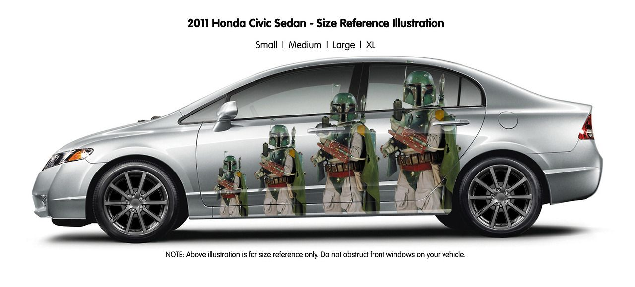 Cars tricked out Star Wars style.
