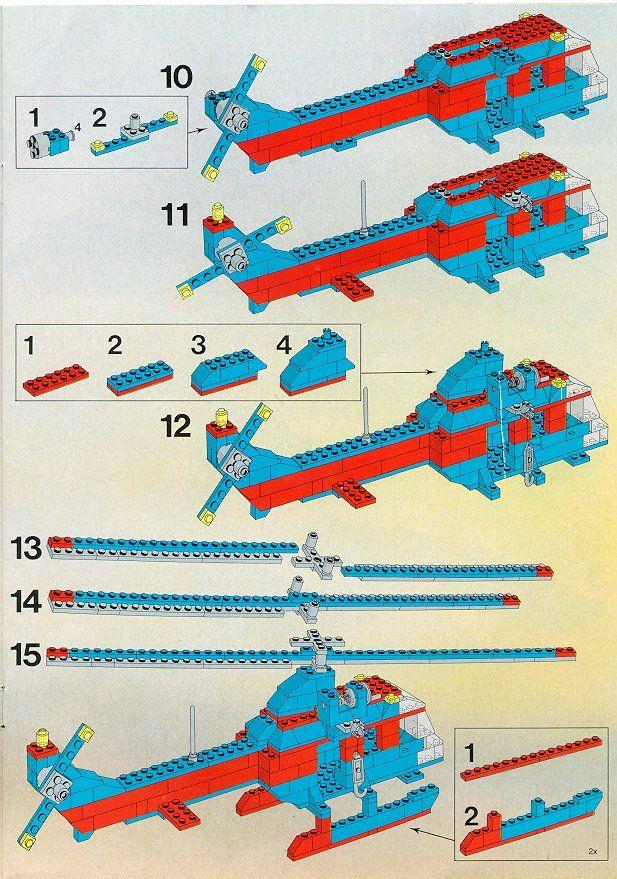 Old Lego Instructions Letsbuilditagain Lego Stuff
