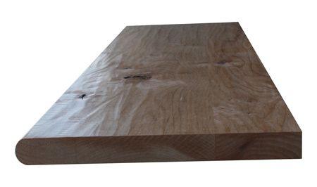 Best Prefinished Hand Scraped Knotty Alder Stair Tread 400 x 300