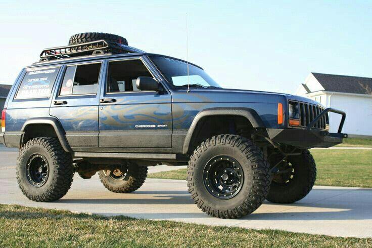 Patriot blue XJ Jeep cherokee sport, Jeep cherokee, Jeep