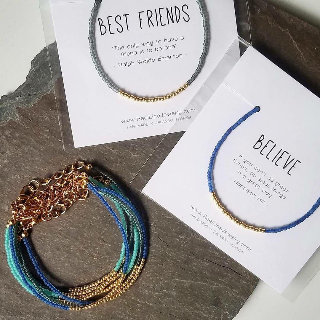 Gold best friends bracelet beads friendship bracelet