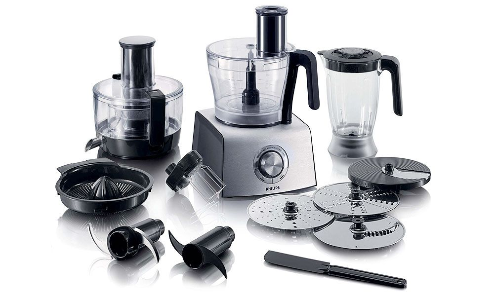 Philips 1000W Compact 3-in-1 Setup 34L Bowl Food Processor - philips cucina küchenmaschine