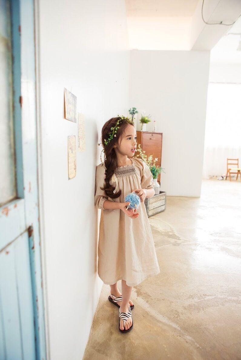 Micca Smock Long Dress (2C)