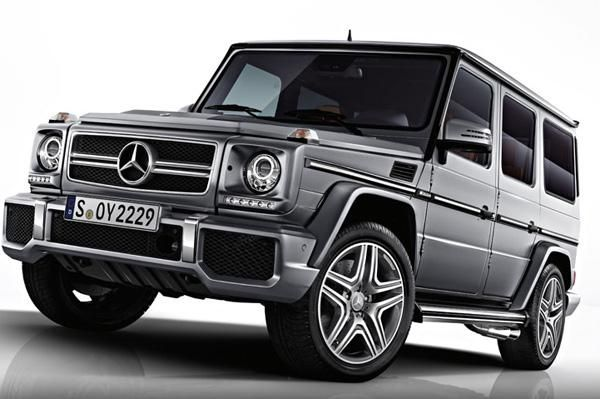 New 2017 Mercedes G Cl Suv Has More Interior E But Keeps Its Iconic Looks