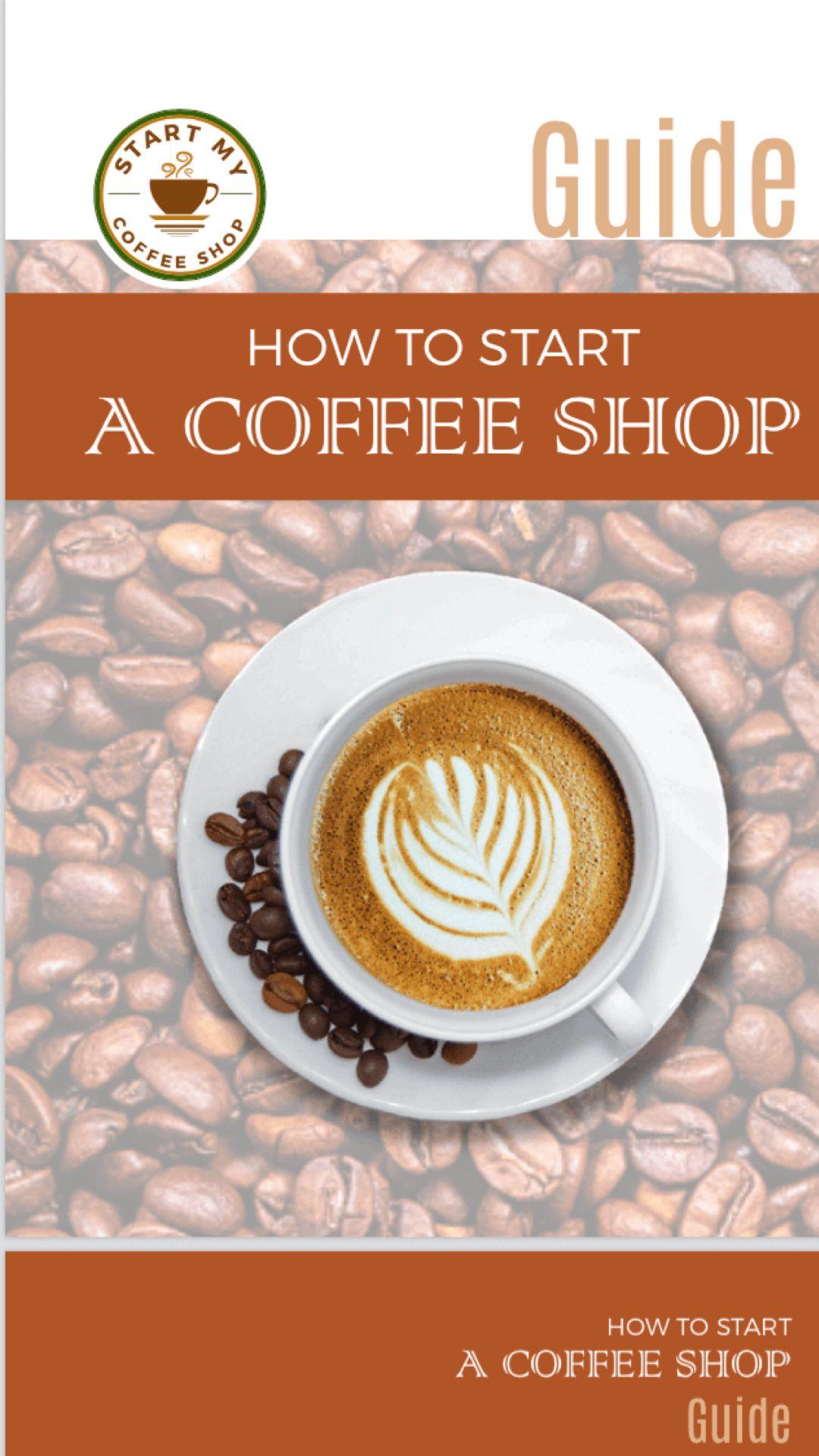 eBook Starting a coffee shop, My coffee shop