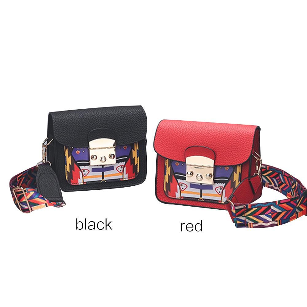 Tote Bag Handbag Female Beauty Travel Accessories Women Pu Snap Button Multicolor Elegant Casual Bag