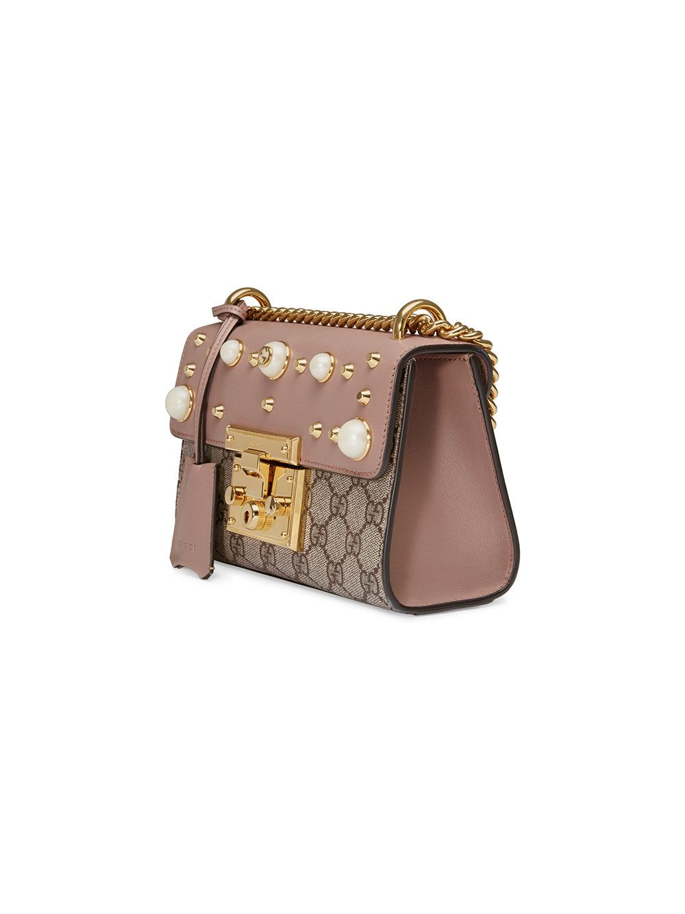 43dd3f88 Gucci Padlock studded GG Supreme shoulder bag | Purses, handbags ...