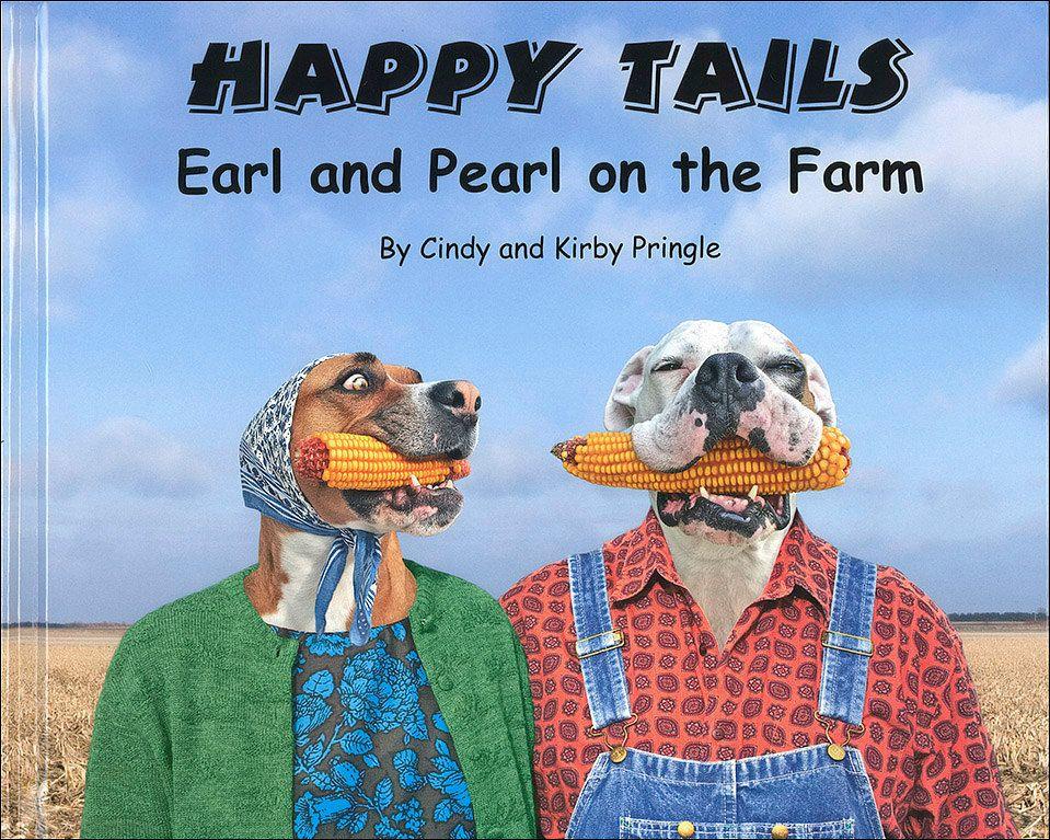 Happy Tails Earl & Pearl on the Farm, an ABC alphabet