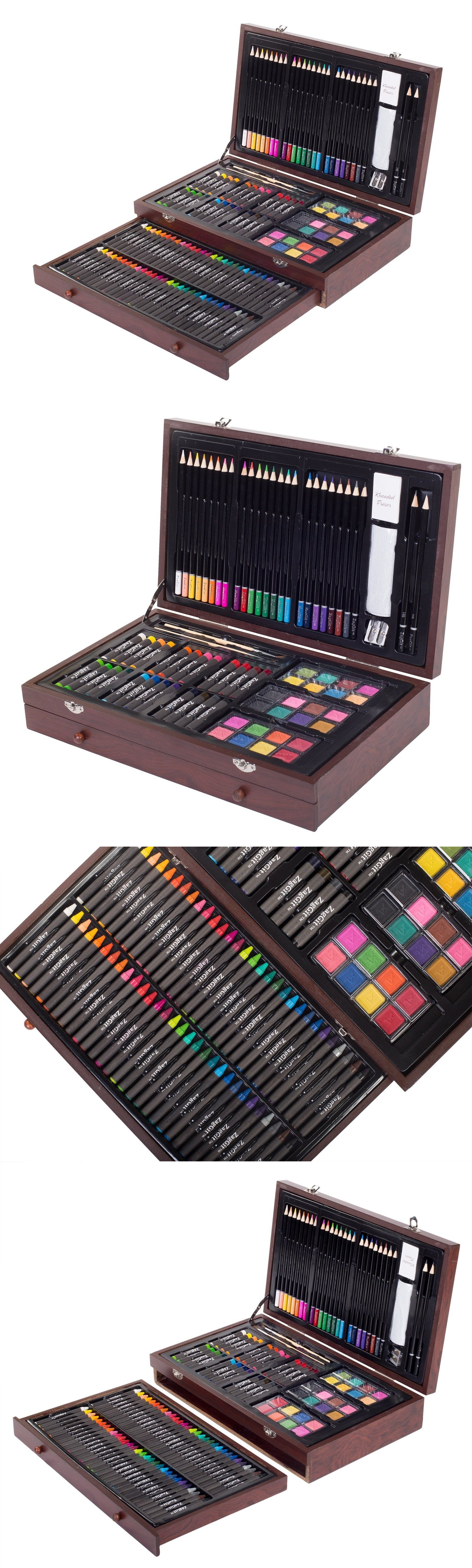 Art Pencils and Charcoal 28108: Art Supplies For Teens Adults Coloring Pencils Shading Paint Set Drawing Kit New -> BUY IT NOW ONLY: $32.99 on eBay!