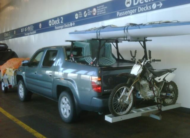 Motorcycle Hitch Carrier Honda Ridgeline Owners Club Forums
