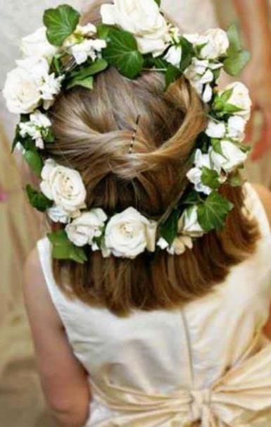 Flower Girl S Flower Crown Toni Kami Flower Girls Corona