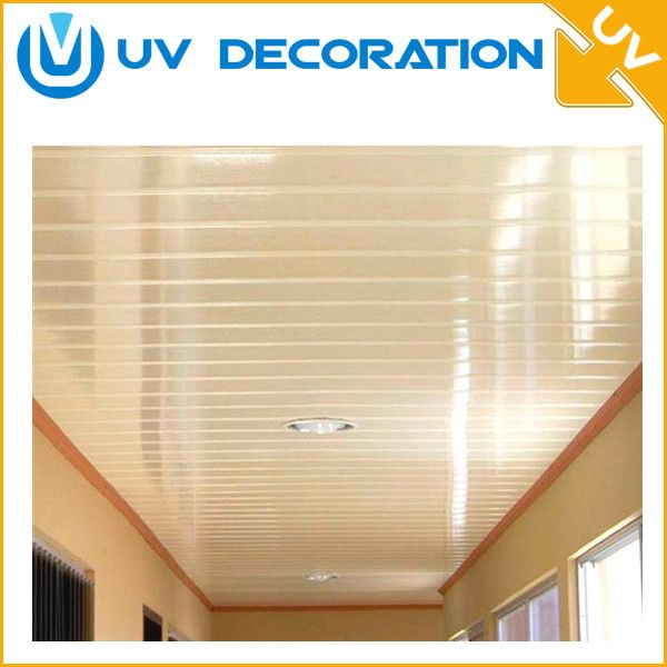 Factory Price Home Decoration Plastic Material Pvc Ceiling