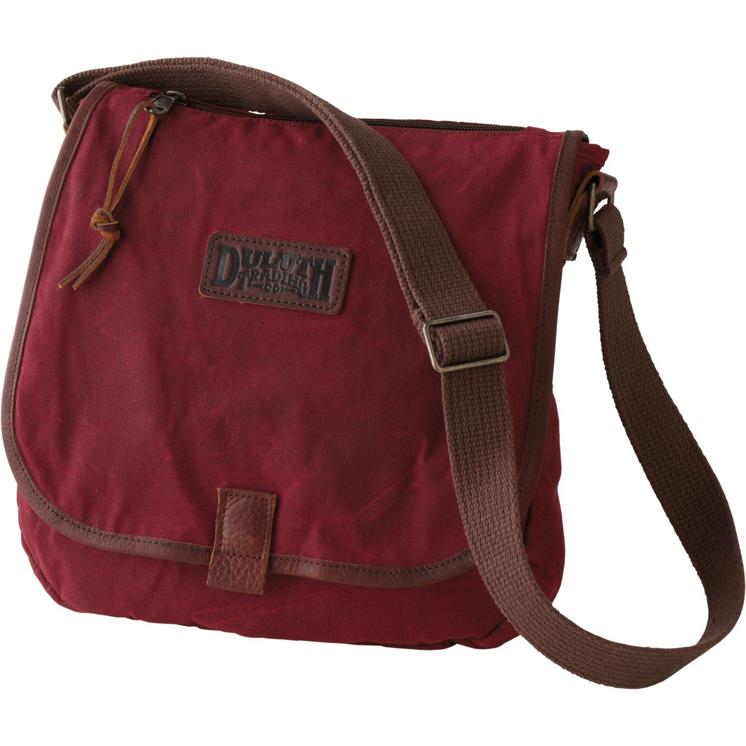 Women s Oil Cloth Sling Bag - Duluth Trading 4f9e395004