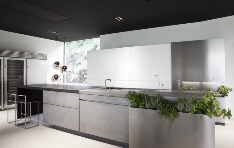 Concrete Eco Kitchen By Martin Steininger