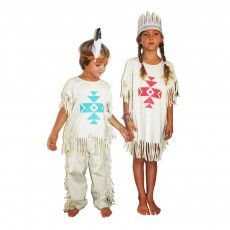 Wild & Soft Ratatam Native American Indian girl costume-listing