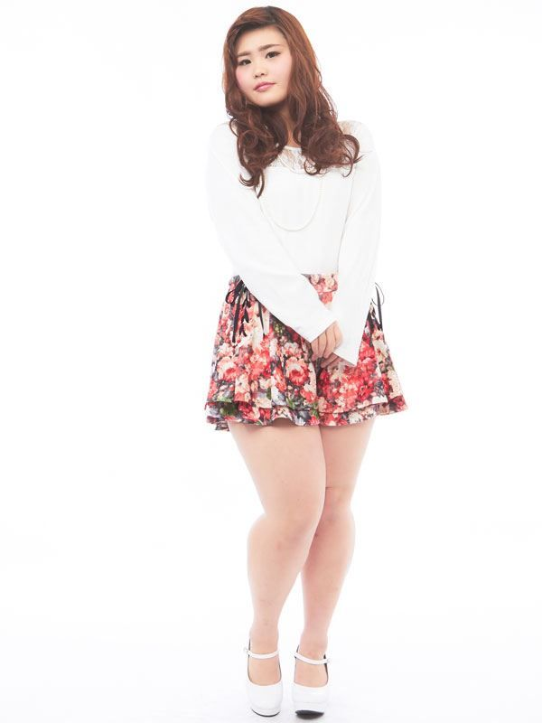 Fat Asian Girl Fashion Google Search Character 3 Pinterest Floral Shorts Girl Fashion