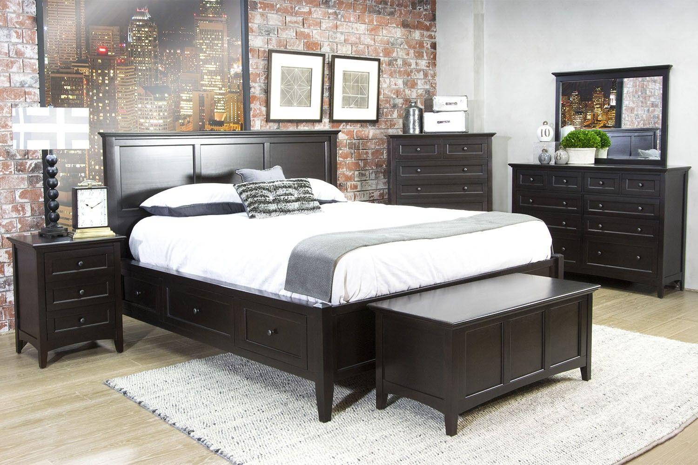 Westlake King Storage Bed - Beds - Bedroom | Mor Furniture for Less ...