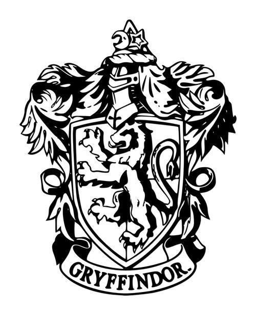 886606 140826190953 Griffindor Jpg 500 616 Gryffindor Crest Harry Potter Coloring Pages Harry Potter Crafts