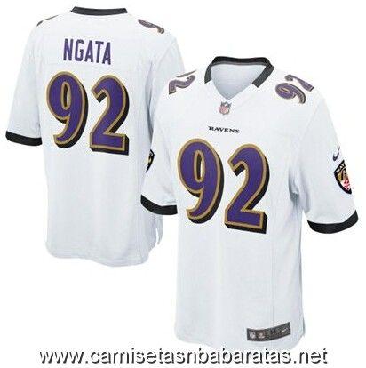 b73128097 Camisetas nfl Baltimore Ravens Ngata  92 blanco €32.90