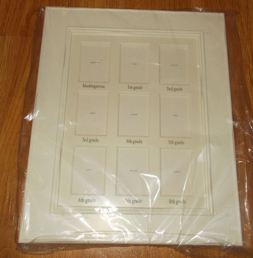 Pottery Barn Kids White School Years Gallery Frame 165 X 135 K 8