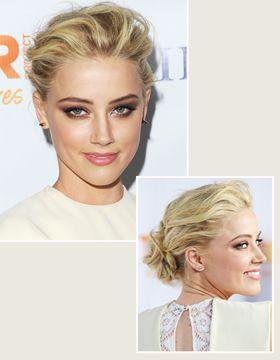 Ako si vyčesať vlasy: Amber Heard