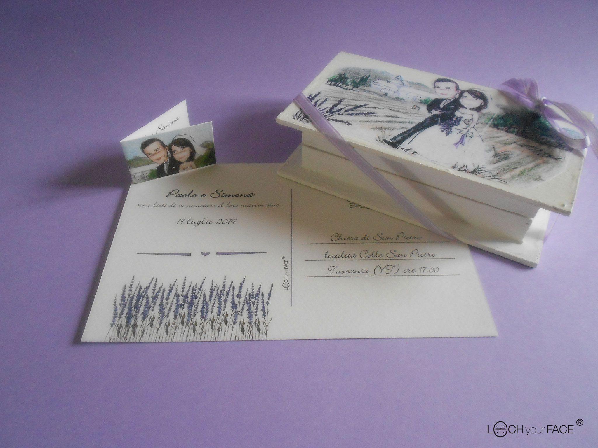 Un modo originale per gli inviti per il tuo matrimonio. #invitimatrimonio #matrimonio #inviticreativi www.lochyourface.it