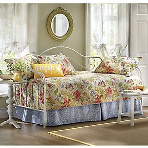 Westport Quilted Daybed Cover, Bedskirt and Sham from Through the Country Door®   NI717895