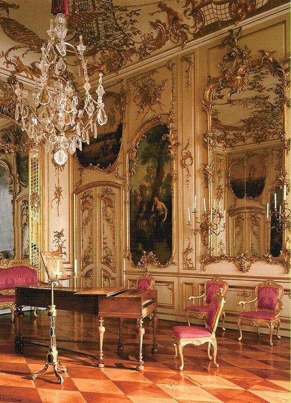 Un Chaise Baroque Pour La Chambre Quand Et Où Meubles