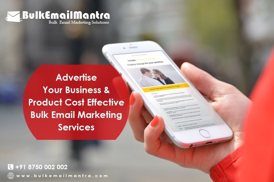 Let us recommend a very unique way that could help you in many ways to make exposure about your business, by sending Bulk  Email to your client.  know more visit : http://www.bulkemailmantra.com/