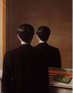 Magritte, Not to Be Reproduced, 1937