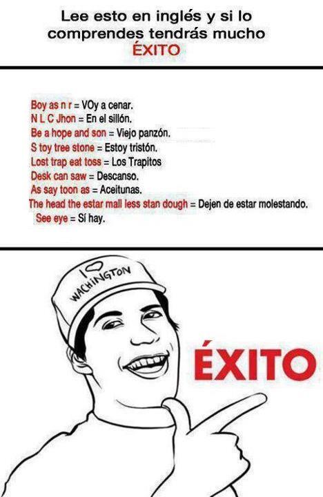 Clases De Ingles Meme English Fun Memes Humor