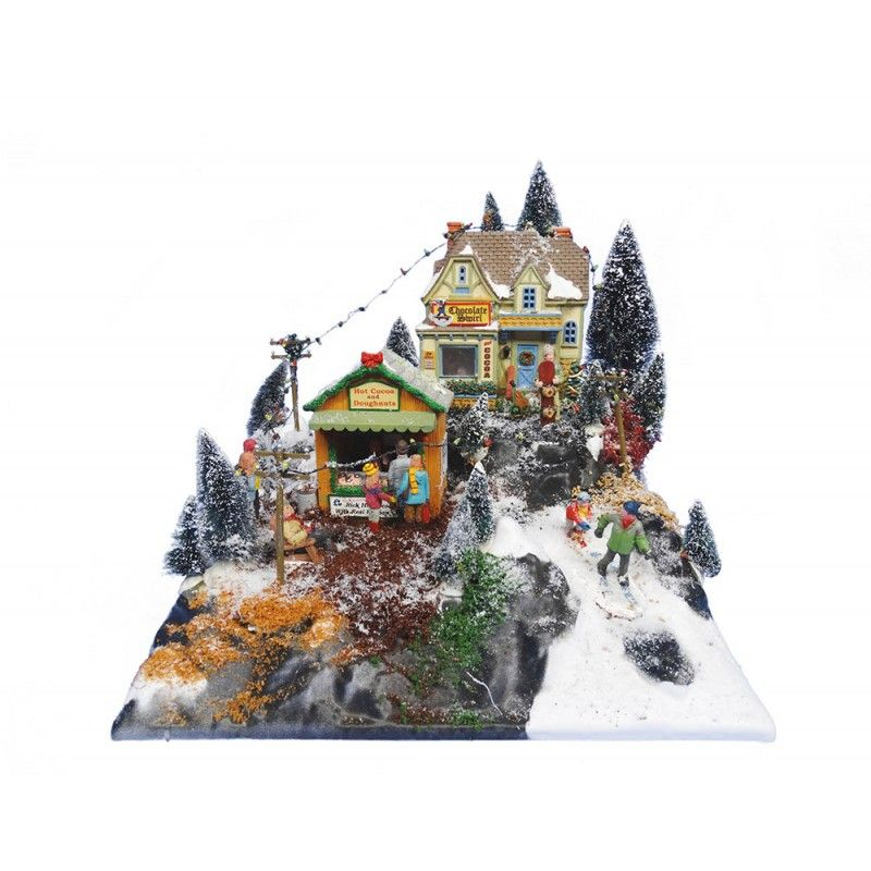 My Village - Basis Kerstdorp Mini Piste