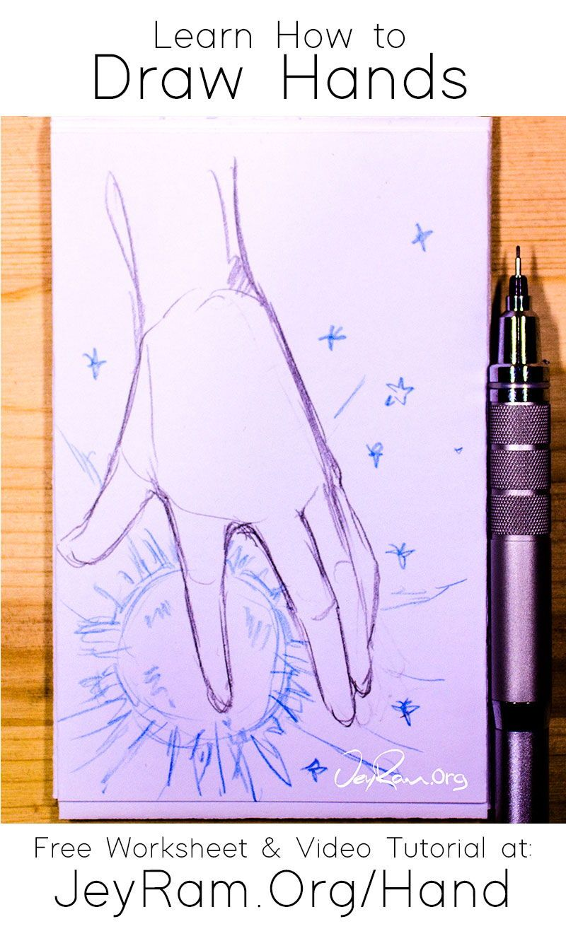 Learn How To Draw Hands Step By Step Tutorial In 2020 How To Draw Hands Body Drawing Tutorial Anime Drawing Books
