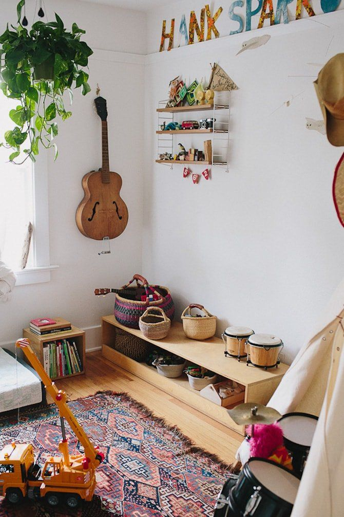 SWEET SOUNDS: When instruments aren't in use, don't store them away – display them like you would a work of art.