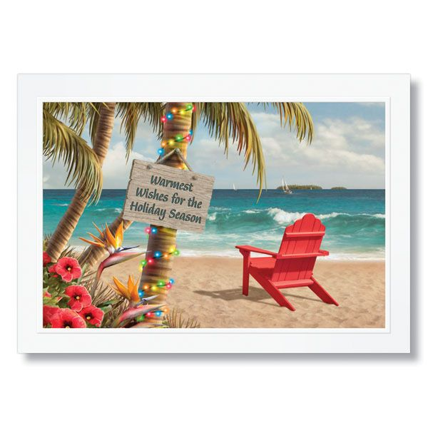 Tropical Birthday Wishes | Tropical Wishes Holiday Card ...