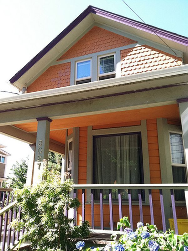 Funky Exterior Color Combinations For The Home