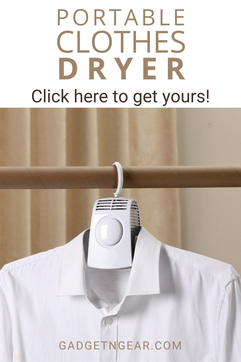 Easy Portable Clothes Dryer In 2020 Portable Clothes Dryer