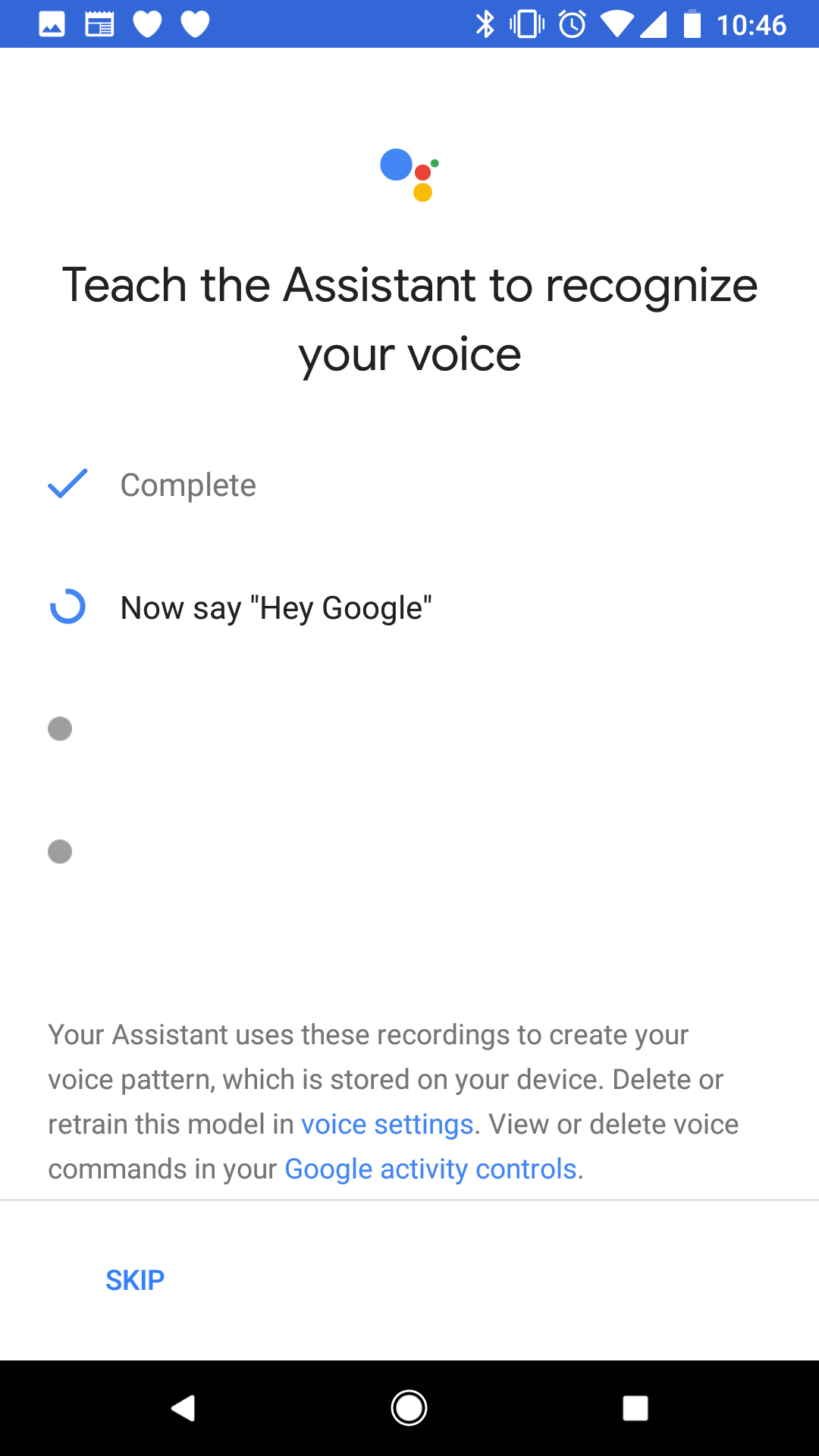 Google is slowly letting people say 'Hey Google' to