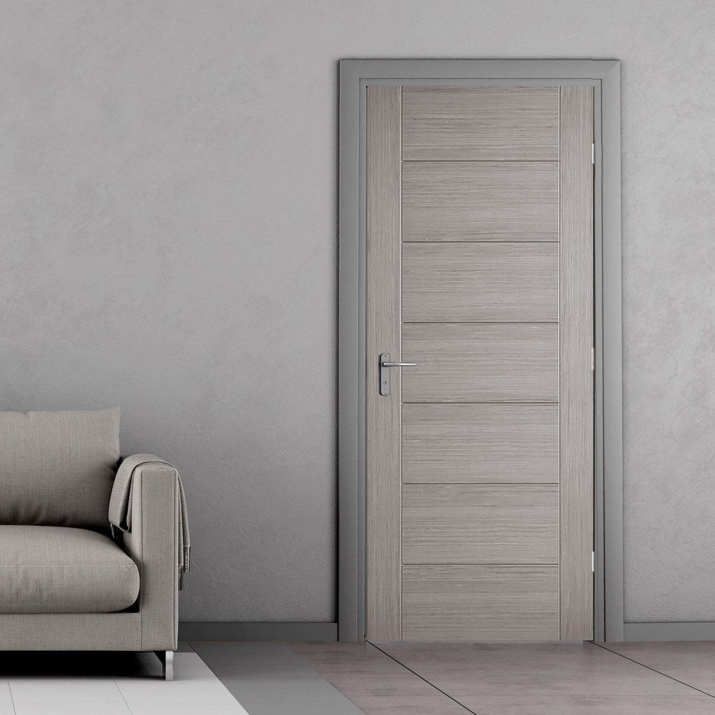 Hampshire Light Grey Internal Door Is 1 2 Hour Fire Rated And Prefinished Lifestyle Image Puertas Interiores De Madera Puertas Interiores Puertas Internas