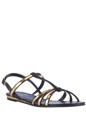 F&F Mirror T-Bar Sandals