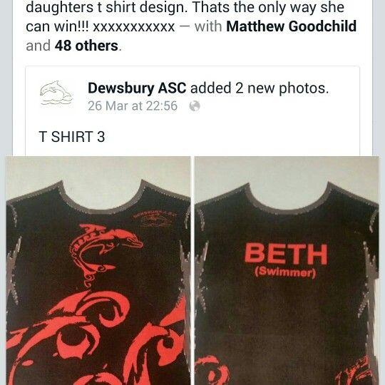 Please go on Dewsbury ASC and like my daughters t shirt design xxxxxxxxxxx