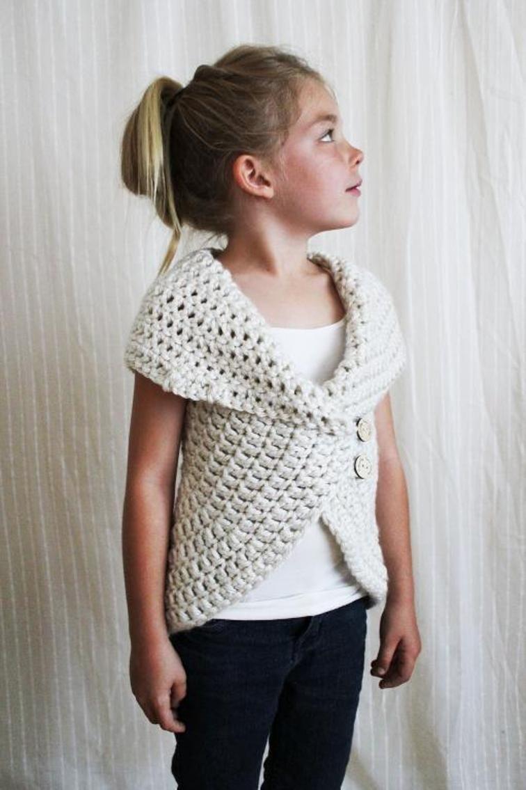 The Julia Sweater | Yarn Over | Pinterest | Chaleco crochet ...