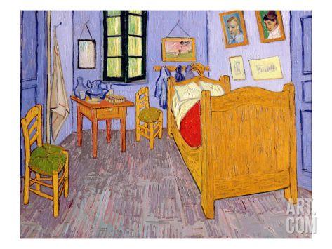 Van Gogh\u0027s Bedroom at Arles, 1889By Vincent van Gogh Artsy - Description De La Chambre De Van Gogh