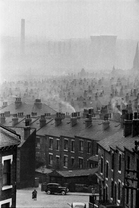 Marc Riboud GB. England, Leeds, 1954. From Marc Riboud/Magnum Photos