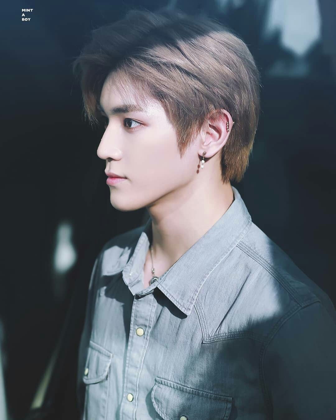 HE HAS THE MOST BEAUTIFUL SIDE PROFILE I'VE EVER SEEN I SWEAR | TY TRACC | NCT ...