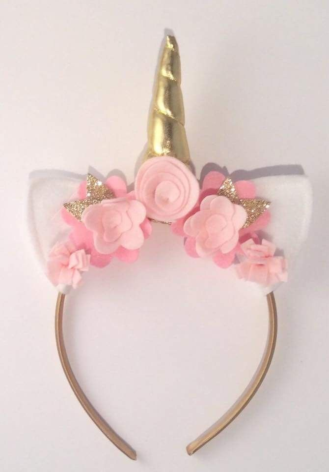 Cute Unicorn Headband  a1c1fcc6f5a
